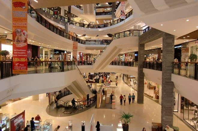 Central Festival offers 6 floors of shops, restaurants and entertainment