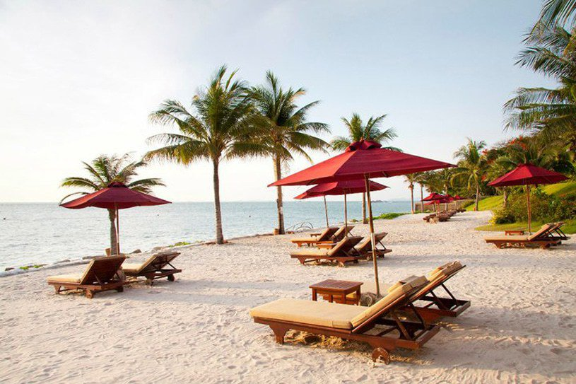 The Sheraton Hotel in Pattaya is a pleasant beachside retreat