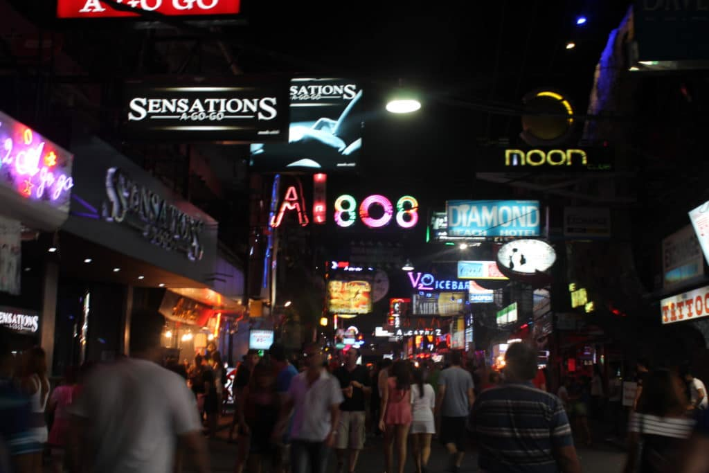 Pattaya's walking street