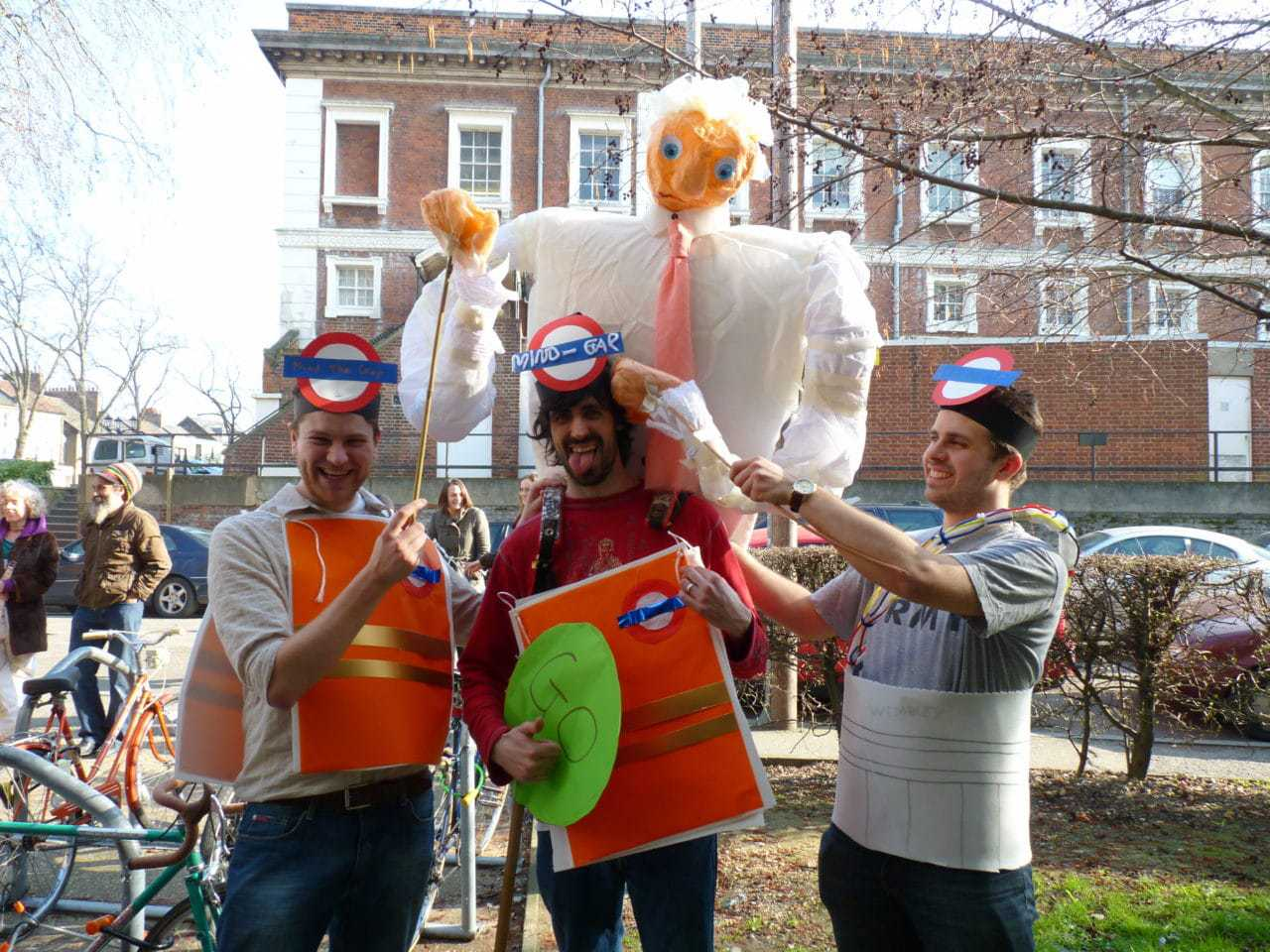 PGCE students' Carnival Week' at Goldsmiths, University of London