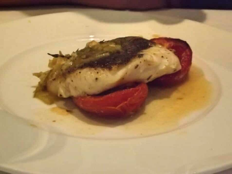 Fillet of hake en papillote