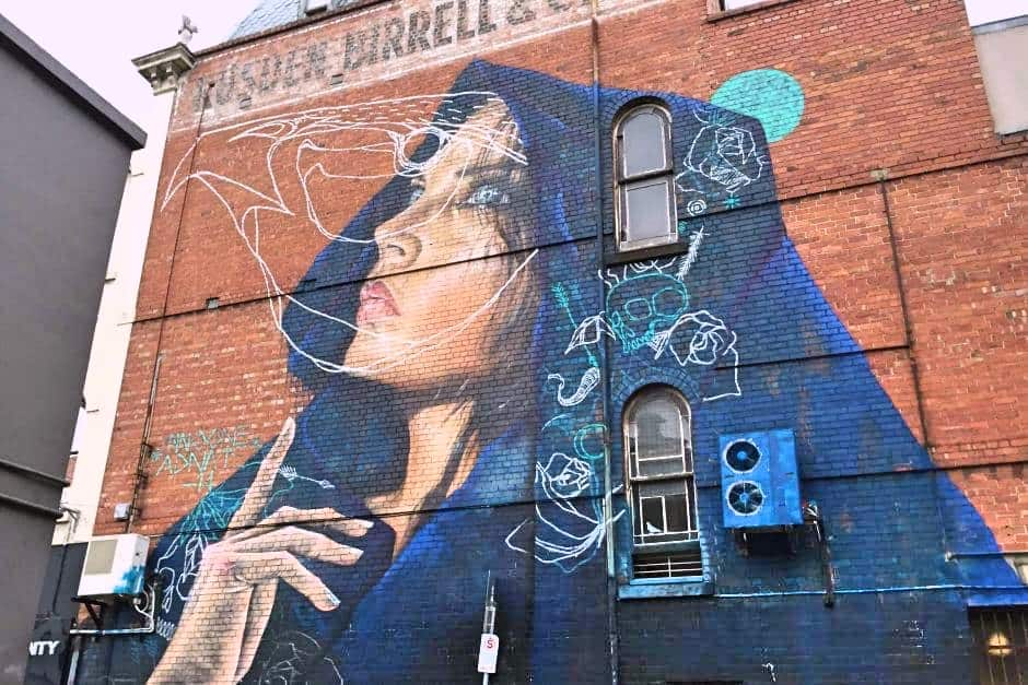 graffiti-Fitzroy-Melbourne-Travel-Mermaid