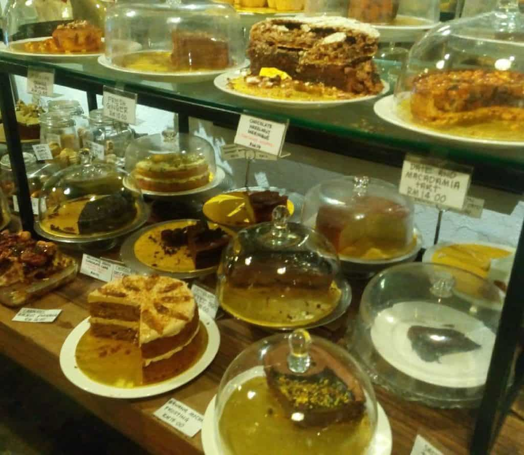 Sublime cake selection- China House, George Town