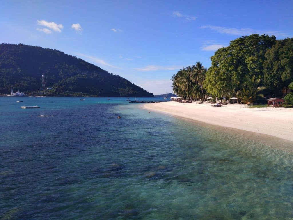 Tuna Bay Resort in Malaysia's Perhentian Besar Island.