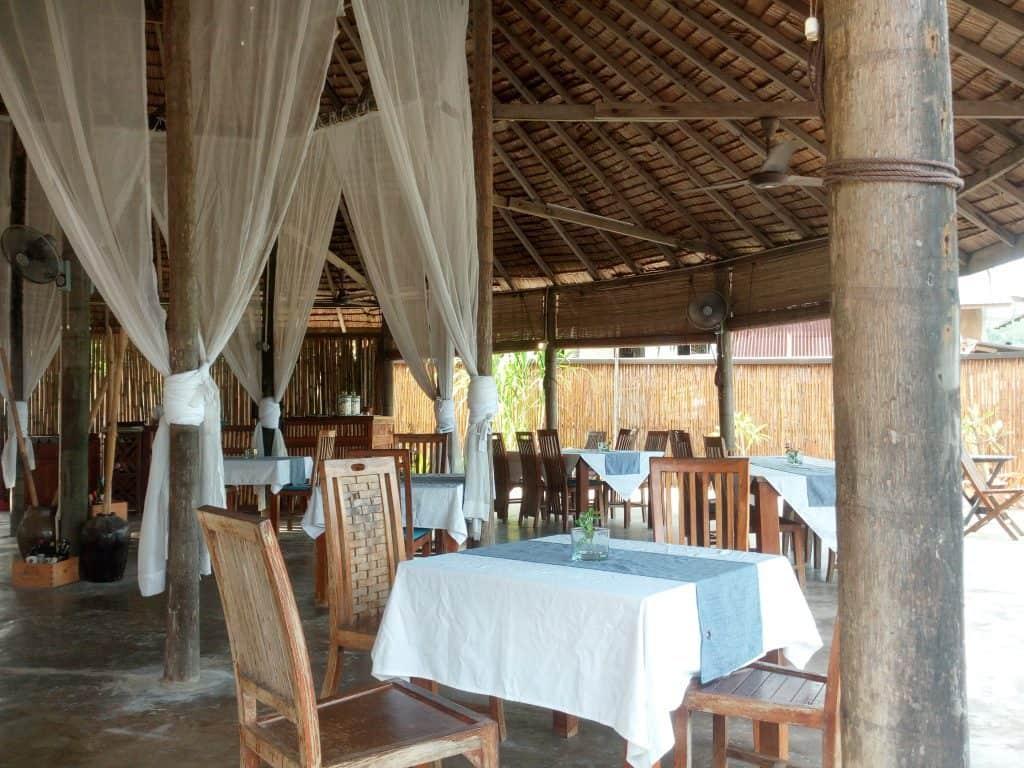 Bubu Villa's World Cafe in Malaysia's Perhentian Kecil Island.