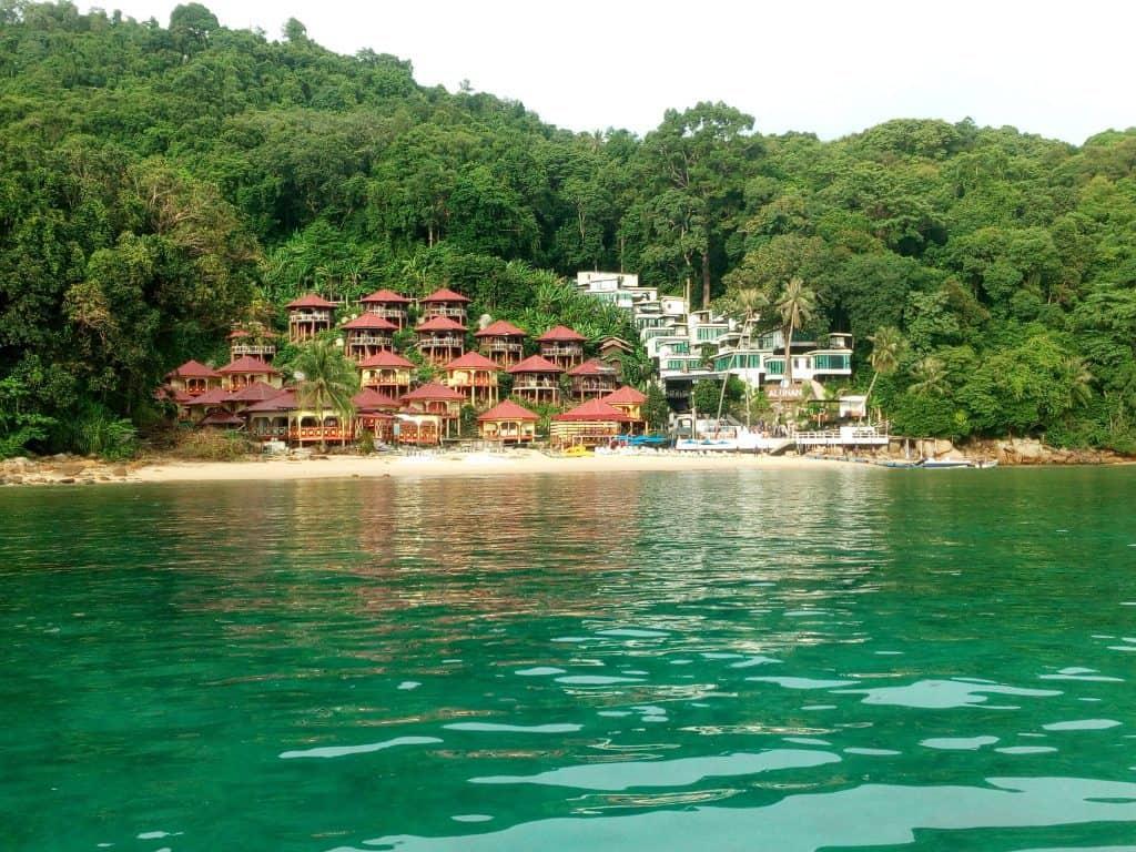 Alunan Resort in Malaysia's Perhentian Kecil Island.