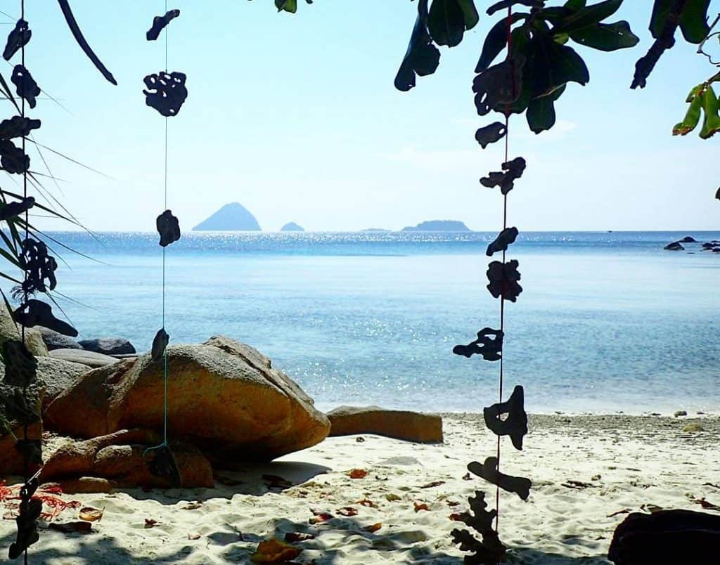 Adam and Eve beach in Perhentian Kecil.