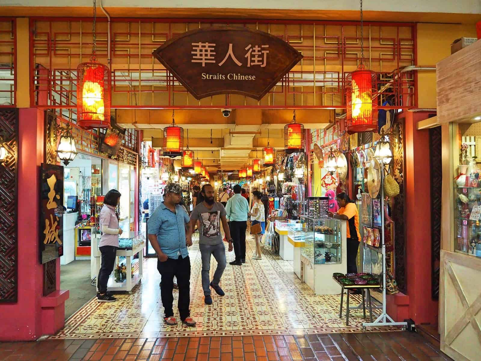 Central Market in Chinatown, Kuala Lumpur