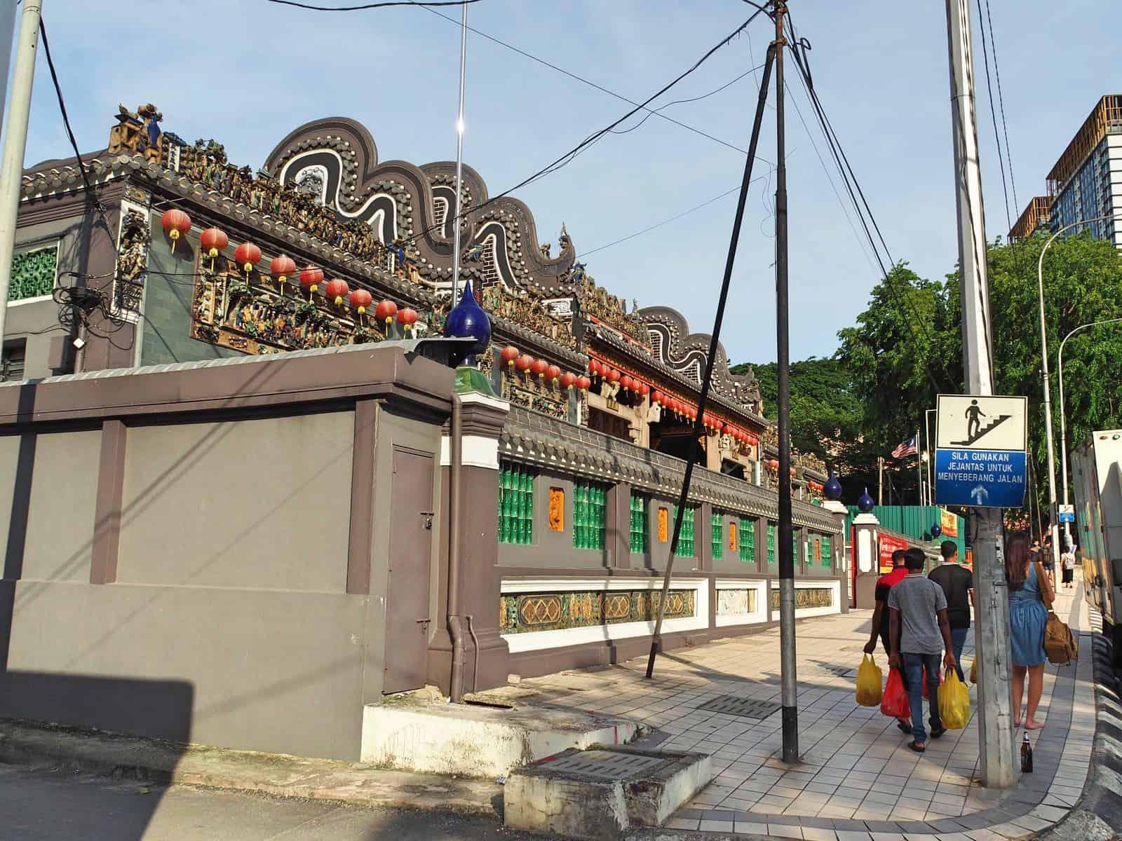 Chan She Shu Yuen Clan Ancestral Hall, Chinatown- Kuala Lumpur