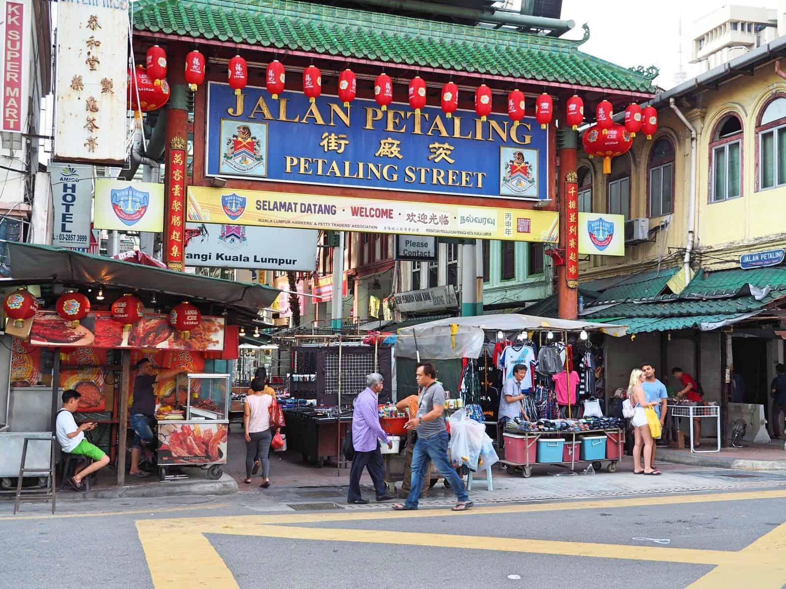 Petaling Street in Chinatown, Kuala-Lumpur