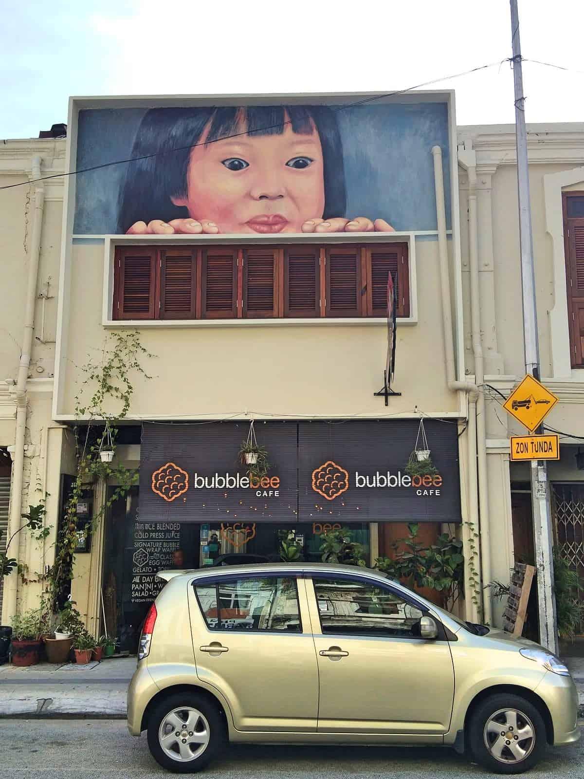 Bubble Bee Cafe in Chinatown, Kuala-Lumpur