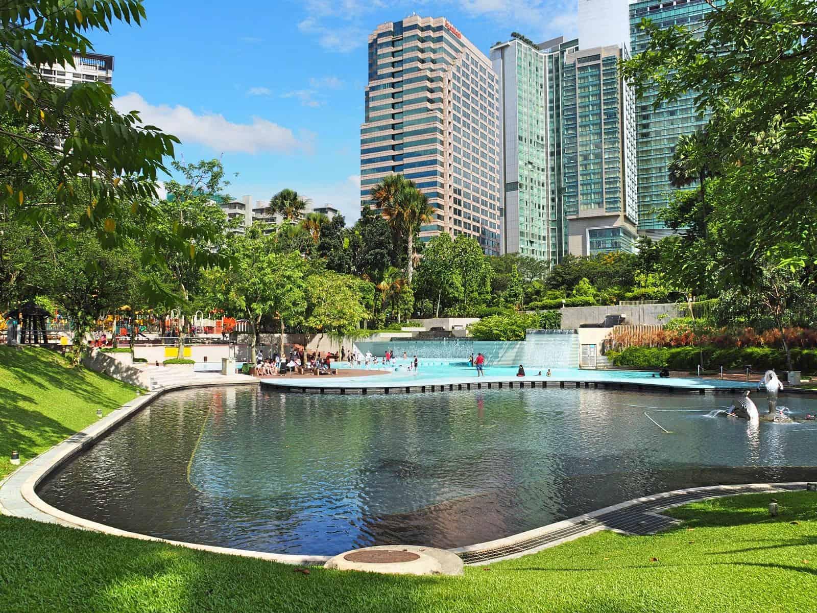 KLCC Park, Kuala Lumpur- Malaysia