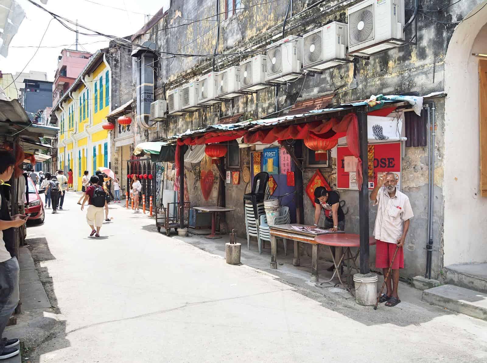 Kwai Chai Hong heritage lane in Kuala Lumpur's Chinatown