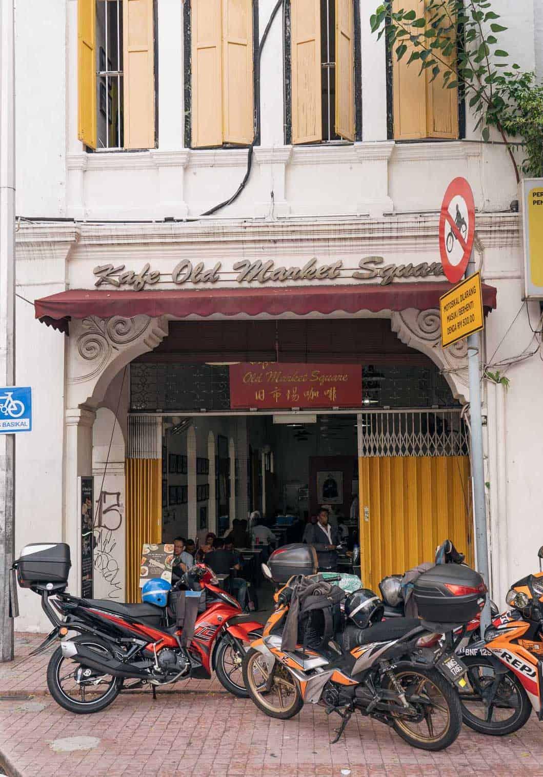 Old-Market-Square-Cafe-Chinatown-Kuala-Lumpur-Malaysia ] Travel Mermaid