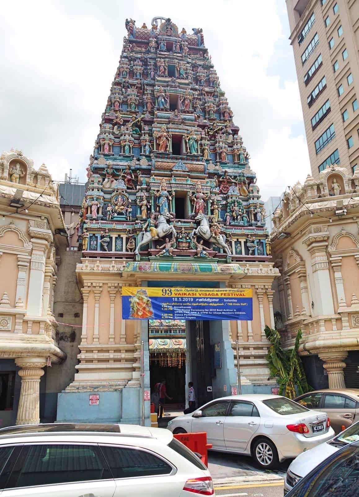 Sri-Mahamariamman-Temple-Chinatown-Heritage Trail-KLCC-Kuala Lumpur-Malaysia-Travel-Mermaid