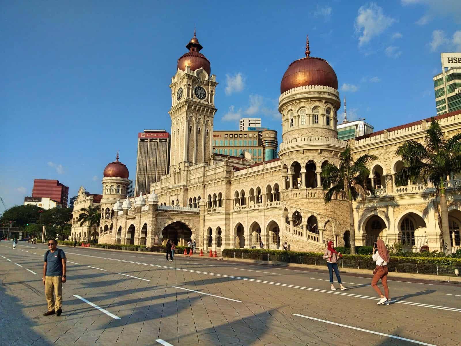 Sultan-Abdul-Samad-Building-Merdeka-Square-Kuala-Lumpur-Malaysia-1 ] Travel Mermaid
