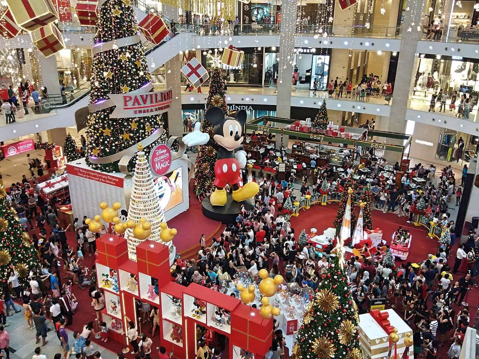 Pavilion-shopping-centre-Christmas-Kuala-Lumpur-Malaysia ] Travel Mermaid