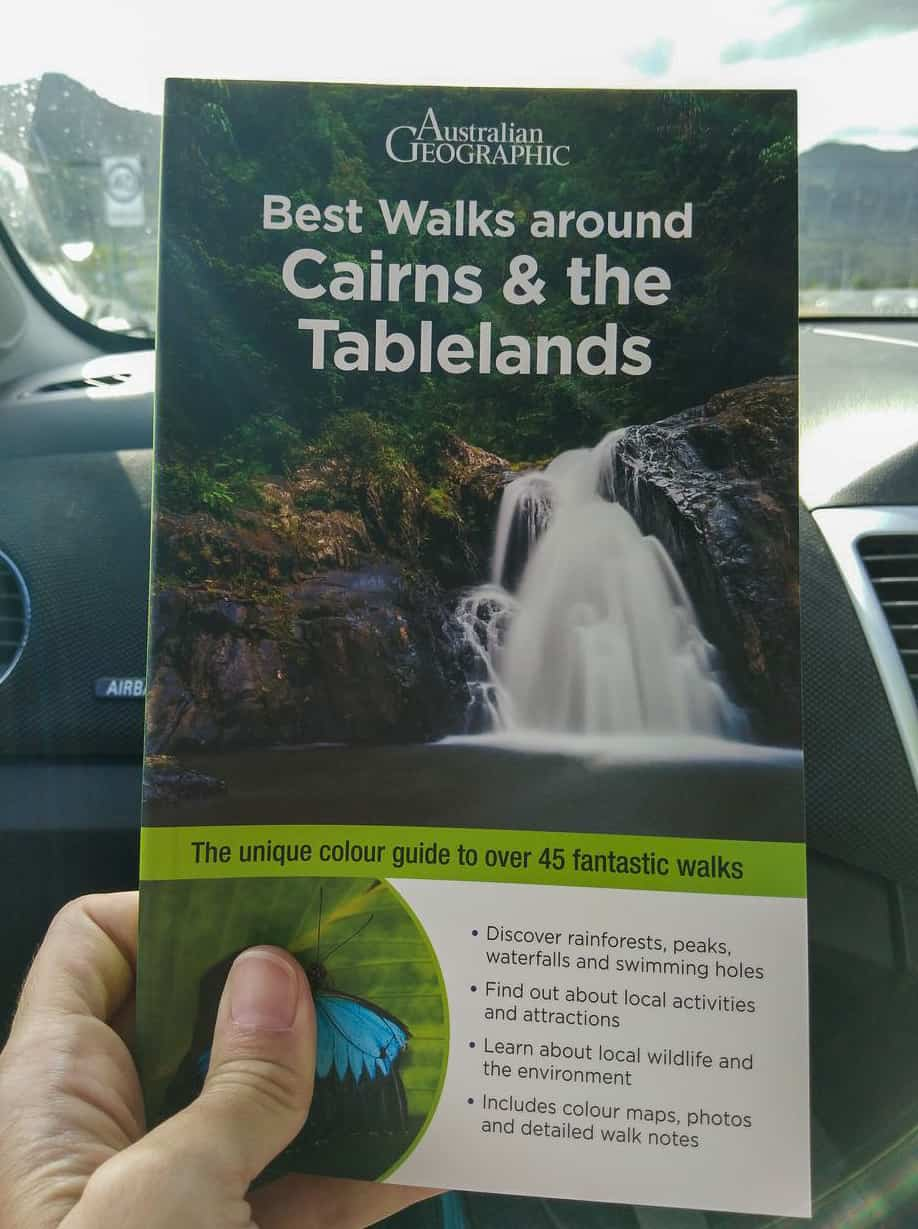 Australian Geographic's hiking book 'Best Walks around Cairns & the Tablelands // Travel Mermaid