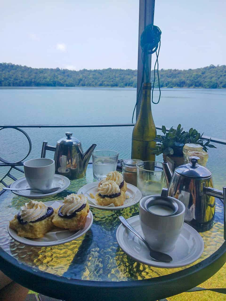 Lake Barrine Tearoom in Far North Queensland, Australia // Travel Mermaid